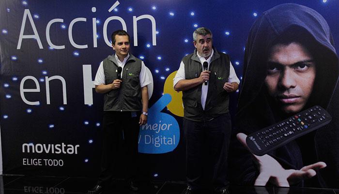 Movistar presenta su nuevo servicio para el el hogar