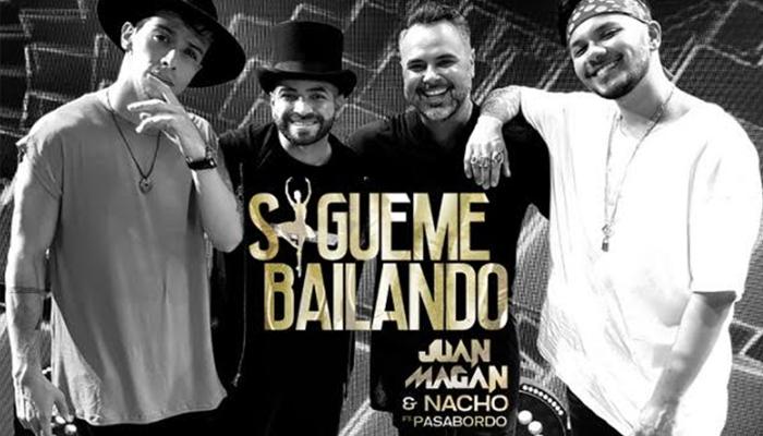 """Juan Magan presenta """"Sigueme Bailando"""" junto a Nacho y Pasabordo"""