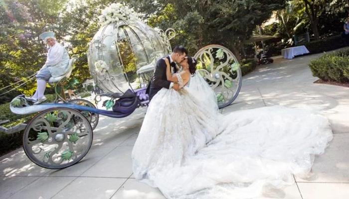 Conoce a la pareja que alquiló Disneyland para celebrar su boda