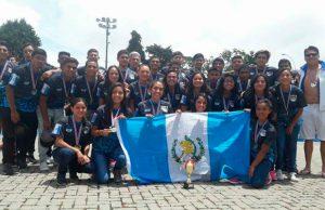Guatemala logró oro y plata en la Copa Costa Rica de Polo Acuático