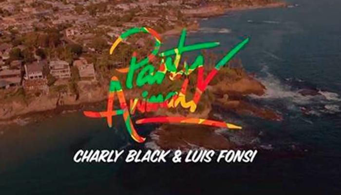 """Charly Black y Luis Fonsi se unen para una nueva versión de """"Party Animal"""""""