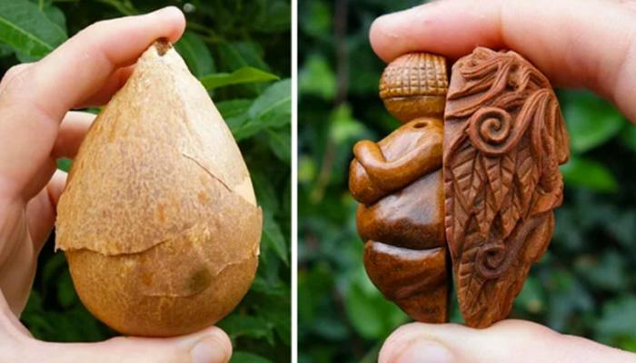 FOTOS: Artista irlandés crea arte con semillas de aguacate