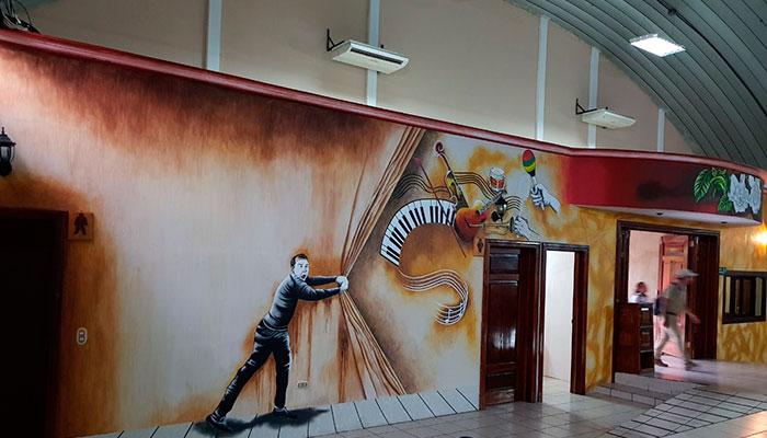 El Teatro de Coatepeque, semillero de Dramaturgos fue remodelado