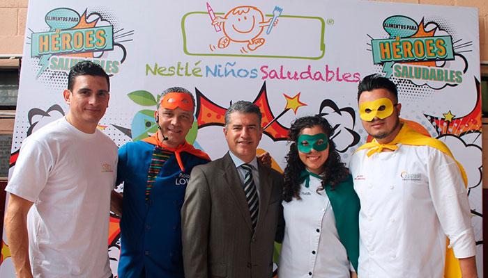 Niños se convierten en Chefs con Nestlé