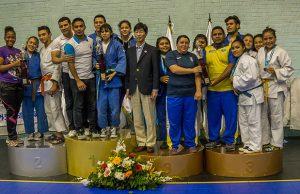 El equipo de judo de Fundación Olímpica Guatemalteca trae cosecha de medallas
