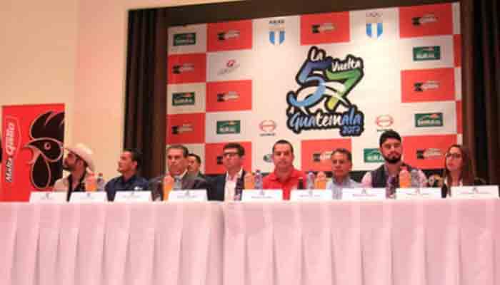 Detalles de la 57 Vuelta Ciclística a Guatemala