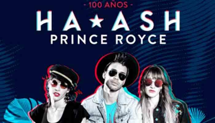 """Ha-Ash lanza nuevo sencillo """"100 años"""" junto a Prince Royce"""