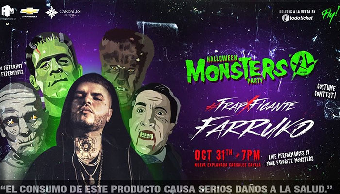 Detalles de Halloween Monsters Party, Octubre 2017