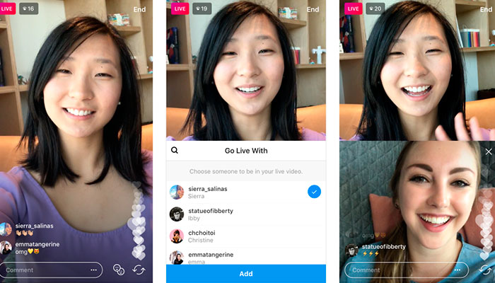 """Instagram permite ahora hacer """"Live"""" con tus amigos"""