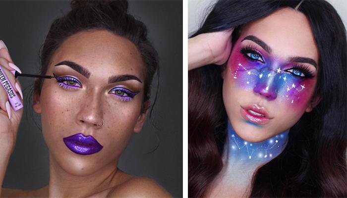 Fotos: Esta chica sólo necesita maquillaje para crear obras de arte
