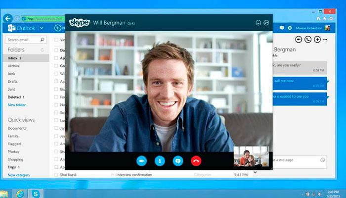 Skype lanza oficialmente nuevo diseño para Mac y Windows