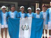 Atletas guatemaltecos competirán por cuatro oros en el III Torneo CONTECA de tenis