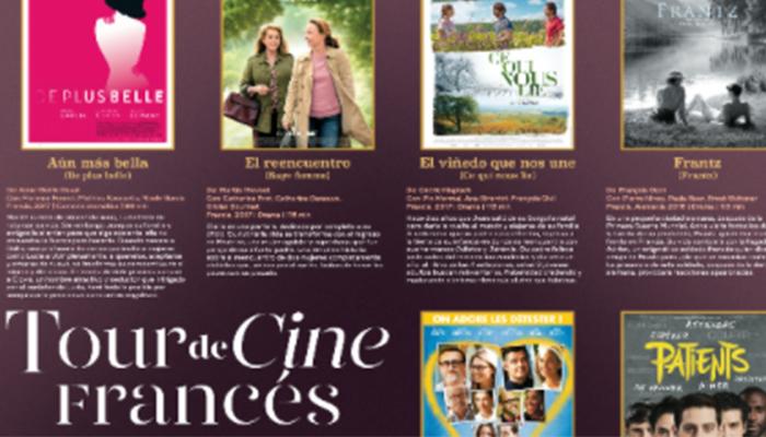 Estrenos en el 21º Tour de Cine Francés