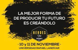 Asiste al Festival de Emprendimiento Héroes Fest, noviembre 2017