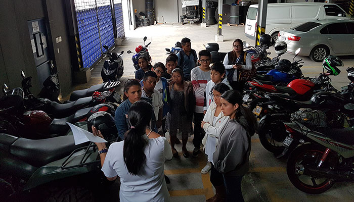 Llamasa abre sus puertas a jóvenes de Casa del Alfarero