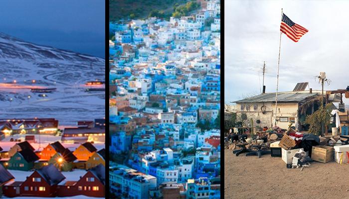 Conoce las 5 ciudades más raras del mundo