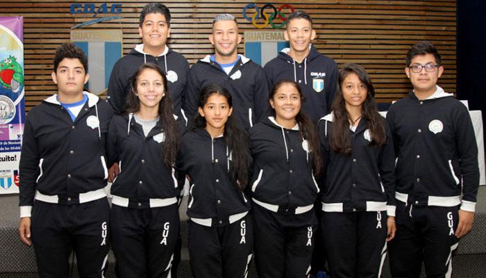 Esgrimistas guatemaltecos listos para la Copa Del Mundo de Florete 2017