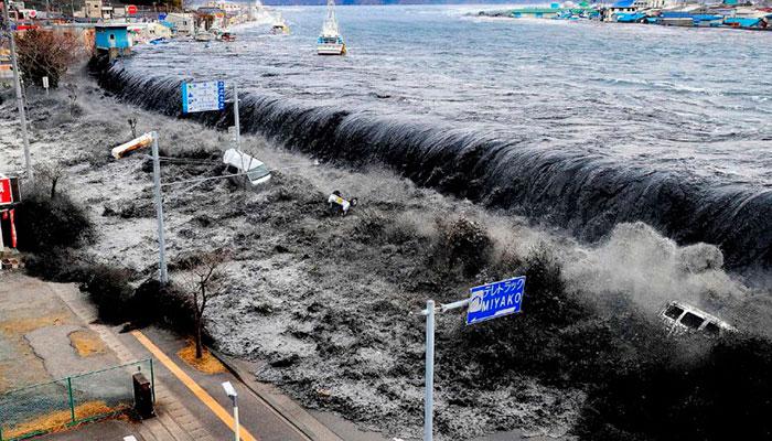 ¿Cómo se forma un tsunami?