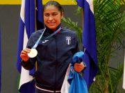 Cheili González logra regreso dorado de Managua 2017