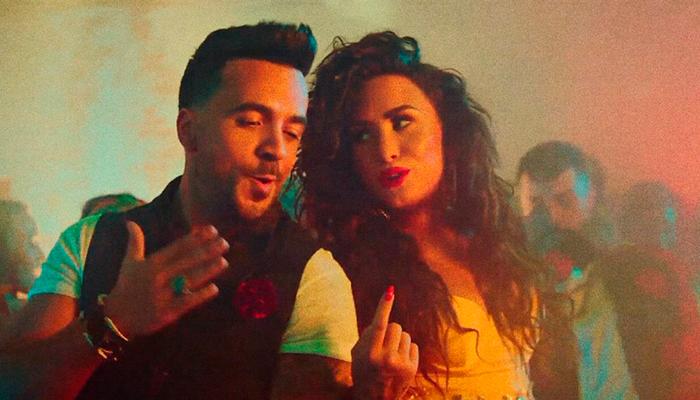 """Luis Fonsi y Demi Lovato se convierten en número 1 con su nueva canción """"Échame la Culpa"""""""