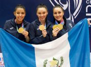 Representantes guatemaltecos de Karate do conquistan oro de Managua 2017