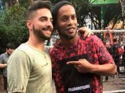 """Ronaldinho participa en nuevo video """"Corazón"""" de Maluma"""