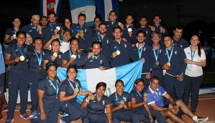 Rugby guatemalteco máximo ganador en Managua 2017
