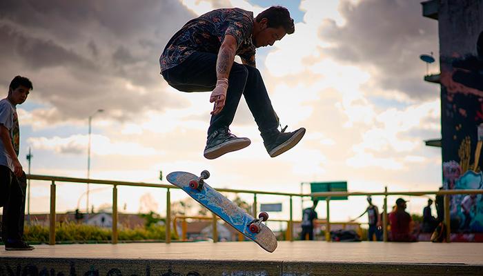 Asiste a los torneos y actividades para skaters Campo Marte, Diciembre 2017