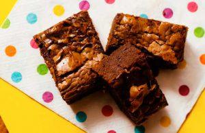 Receta fácil para realizar brownies