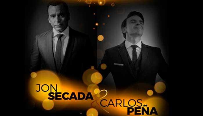 Carlos Peña y Jon Secada ofrecerán concierto en Guatemala