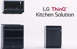 Las cocinas LG te conectan con el futuro
