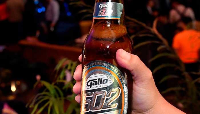 Cerveza Gallo presenta una nueva experiencia de sabor con Gallo 502