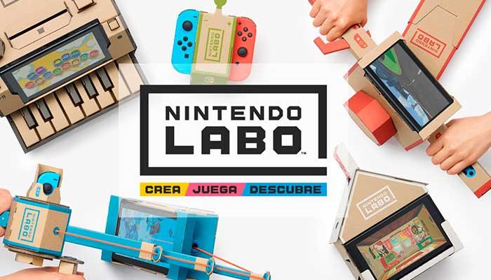 Nintendo sorprende con nuevo accesorio de cartón para el Switch