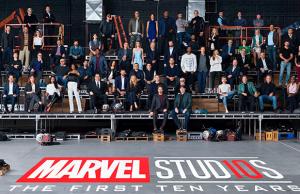 Actores y actrices del Universo Cinematográfico Marvel se reúnen para celebrar décimo aniversario