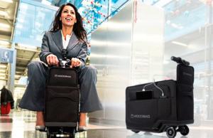 Modobag, la maleta que te trasporta por el aeropuerto