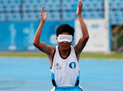 Atleta no vidente guatemalteco es nominado como mejor atleta paralímpico de América