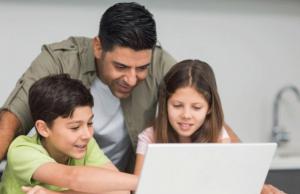 Consejos sobre seguridad de tecnología para padres jóvenes