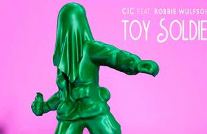 """La estrella brasileña CIC estrena """"Toy Soldier"""" en compañía de Robbie Wulfsohn"""