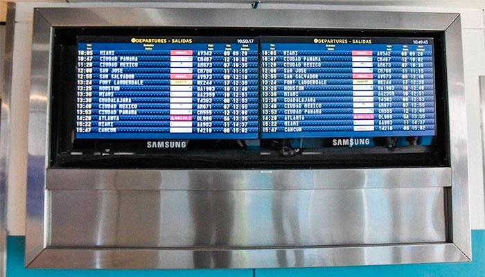 Samsung apoya al Aeropuerto Internacional La Aurora