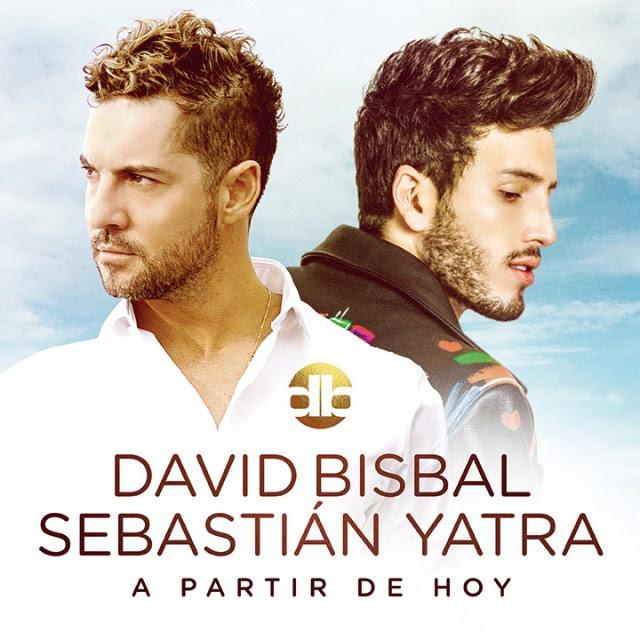 David Bisbal y Sebastian Yatra #APartirDeHoy