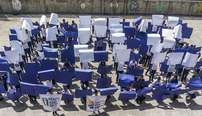 Así celebró Fundación Olímpica Guatemalteca (Funog) el día internacional del deporte para el desarrollo y la paz