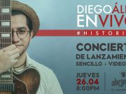 <b>Concierto de Diego Álezy lanzamiento de &#8220;Historias&#8221;</b>
