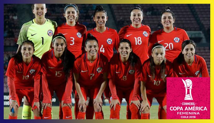 Las Deportistas y el Fútbol, Copa América Femenina 2018
