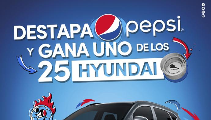 <b>Con Pepsi y 7up gana uno de los 25 carros Hyundai</b>