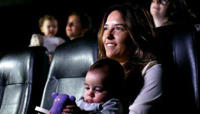 La gran cita en el cine con tu bebé