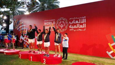 Guatemala gana 20 medallas en las Olimpiadas Especiales Abu Dhabi 2019