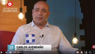 Carlos Avendaño candidato a alcalde