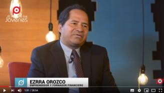 Ezrra Orozco emprendedor y formador financiero