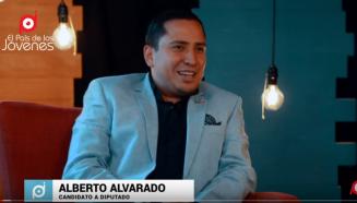 Alberto Alvarado candidato a diputado