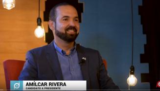 Amilcar Rivera Candidato a presidente